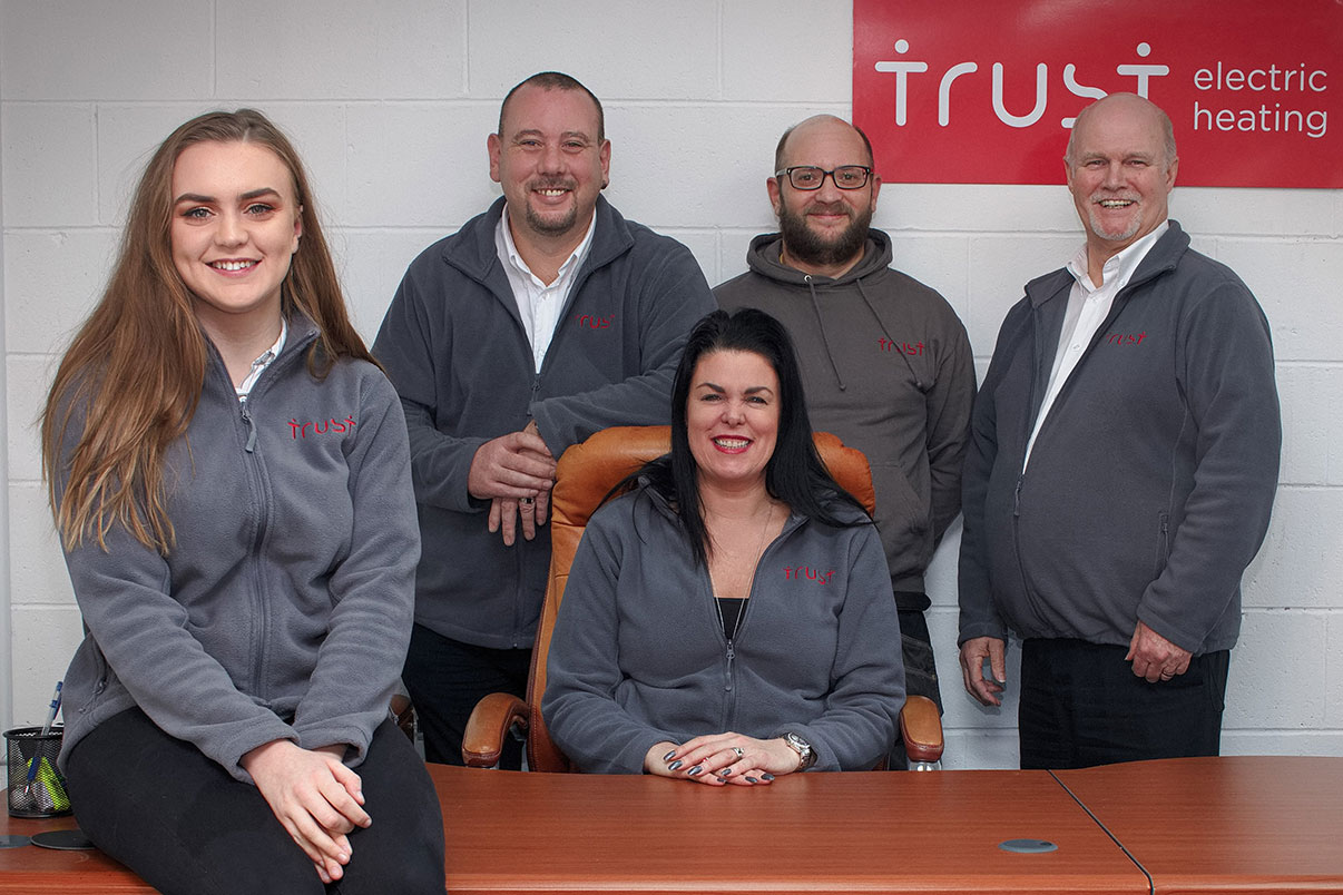 The Trust Team Photo